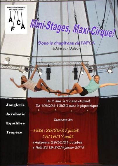 stage cirque AFCA